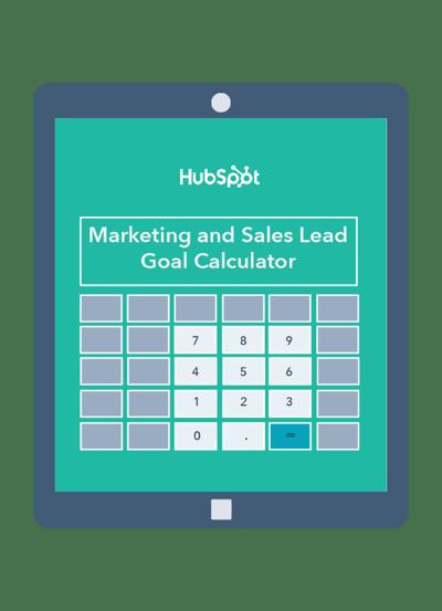 Marketing & Sales Lead Goal Calculator