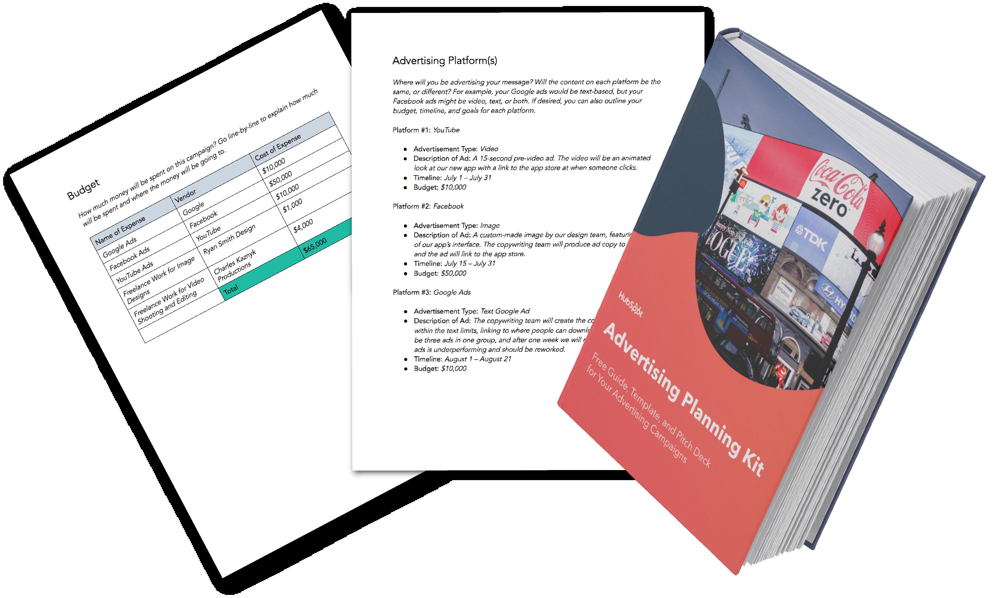 Advertising Planning Kit